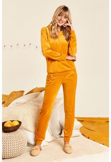 8144-6201   дамски комплект блуза+панталон Anabel Arto