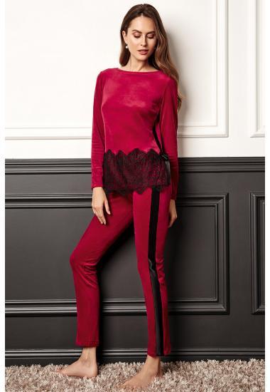 8163-6217-3  дамски комплект блуза и панталон Anabel Arto