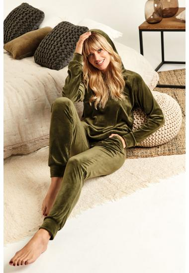 8158-6201  дамски комплект блуза+панталон Anabel Arto