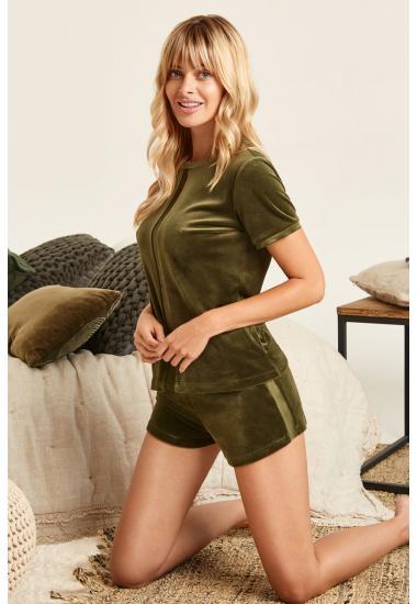 8158-6215  комплект дамски (блуза+шорты)  Anabel Arto