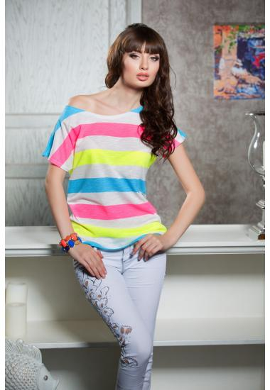 6243 дамска дантелена блузка Anabel Arto