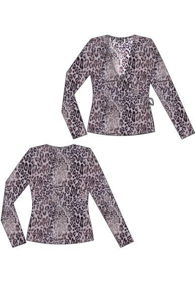 6279 дамска дантелена блузка Anabel Arto