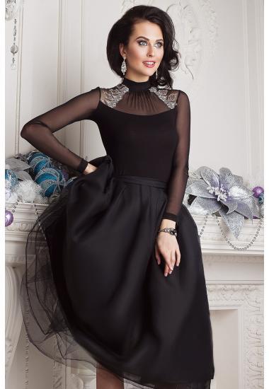 6292-2 дамска дантелена блузка Anabel Arto