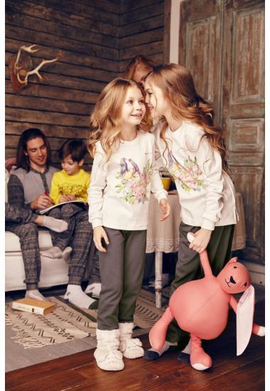 6615-2  комплект детски (блуза+панталон)  Anabel Arto