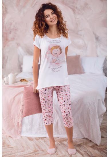 6216-2G  дамски комплект блуза и панталон Anabel Arto