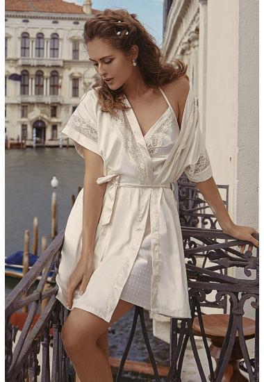 7027-6734 комплект(халат+рокля)  Anabel Arto