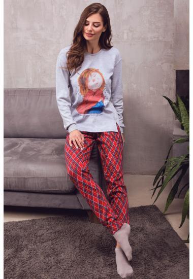 6215-4 дамски панталон  Anabel Arto