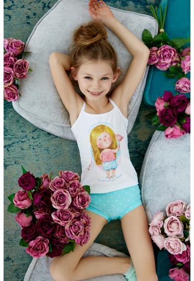 6412G Комплект за момиче : потник +бикини Anabel Arto