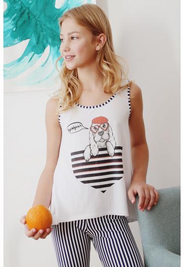 6653A Тениска за момиче Анабел Арто