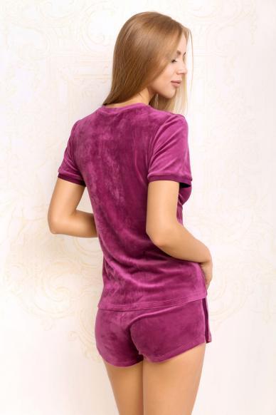 7017-6215 комплект дамски (блуза+шорты)  Anabel Arto