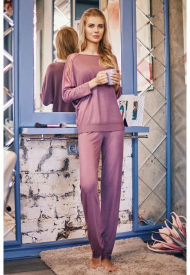 7028-6216-8  дамски комплект блуза+панталон Anabel Arto