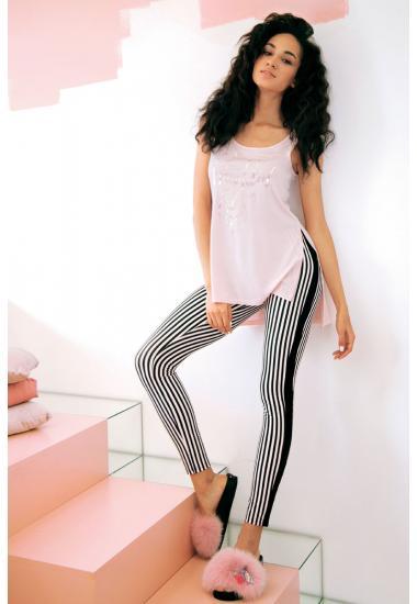 6217-2 комплект женска тениска + гамаши Anabel Arto